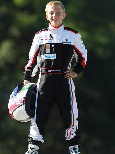 Mario Tomasini Interview Martin Tomasini Nachwuchsrennfahrer Kartfahrer Motorsportkarriere