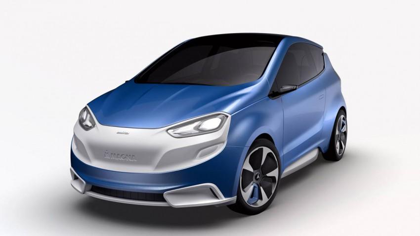 Das MILA Blue Konzeptauto