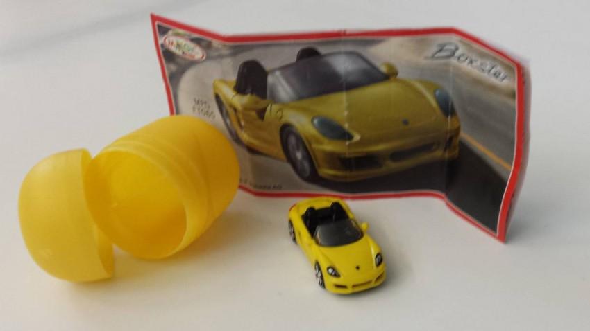 Porsche in Überraschungseiern Ferrero Boxster