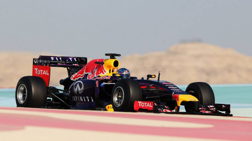 vettel bahrain red bull rb10