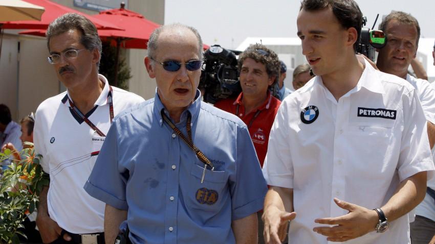 Robert Kubica und Gary Hartstein.