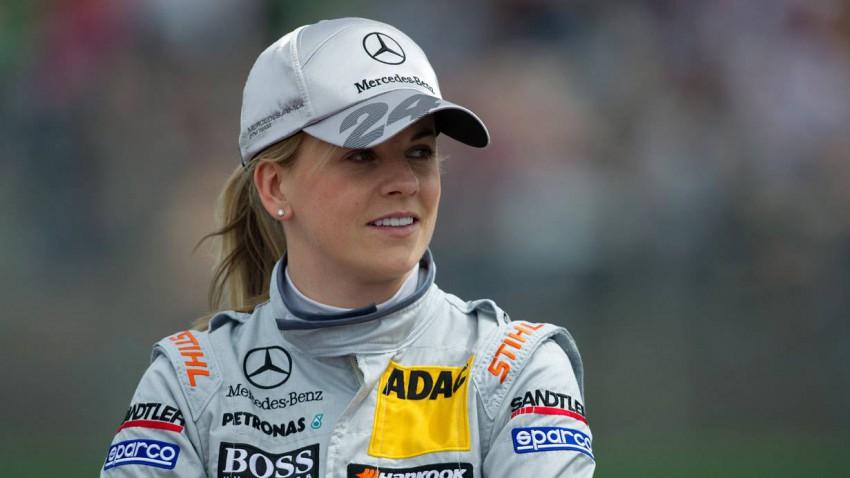 Susie Wolff DTM Hockenheimring 2012