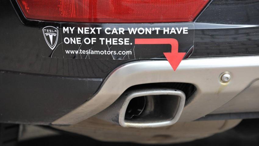 Teslamotors Aufkleber