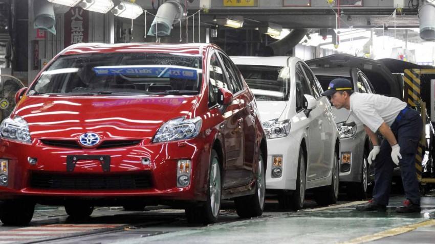 Toyota Pirus im Werk in Toyota-City