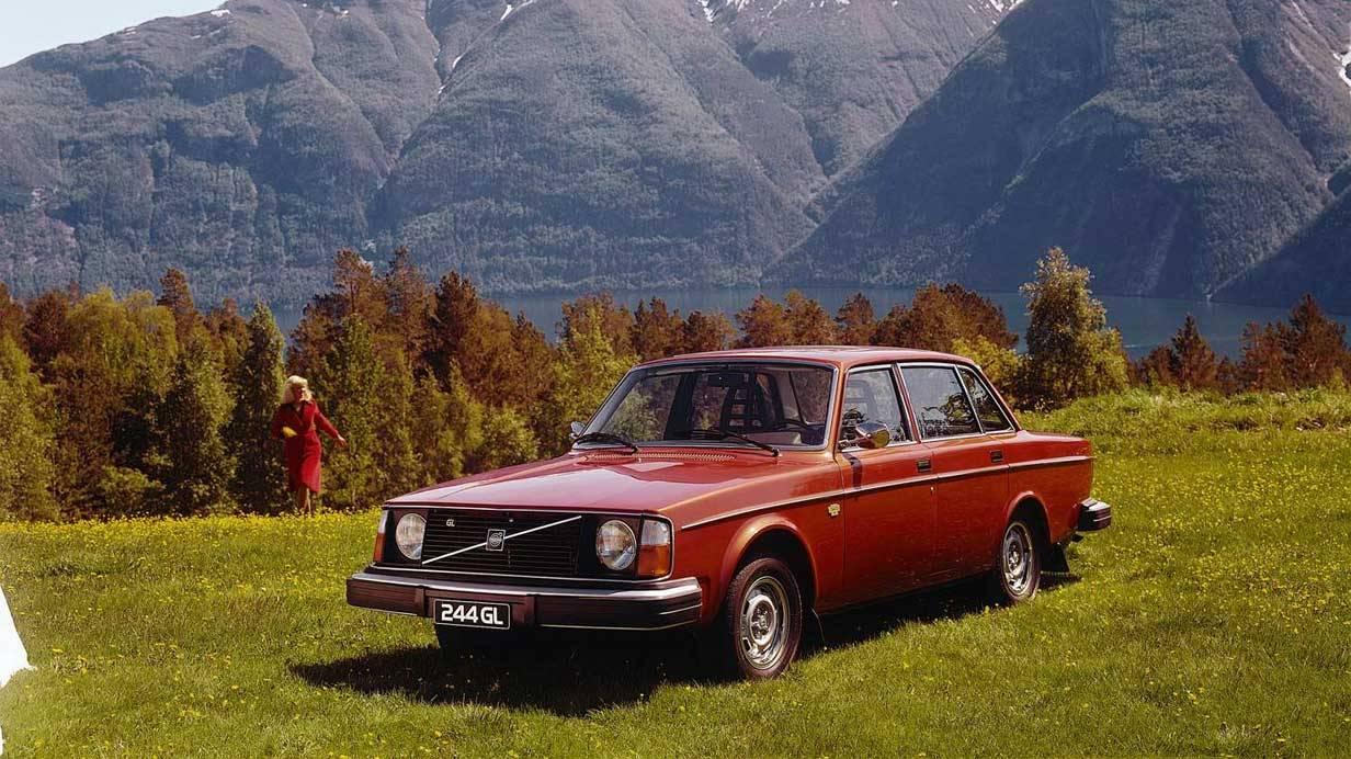 Der Volvo 244 aus dem Jahr 1975