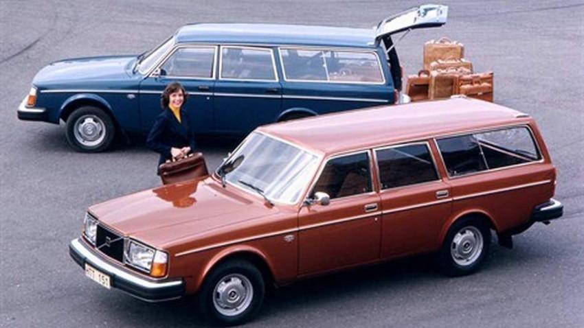 Der Volvo 245 aus dem Jahr 1975