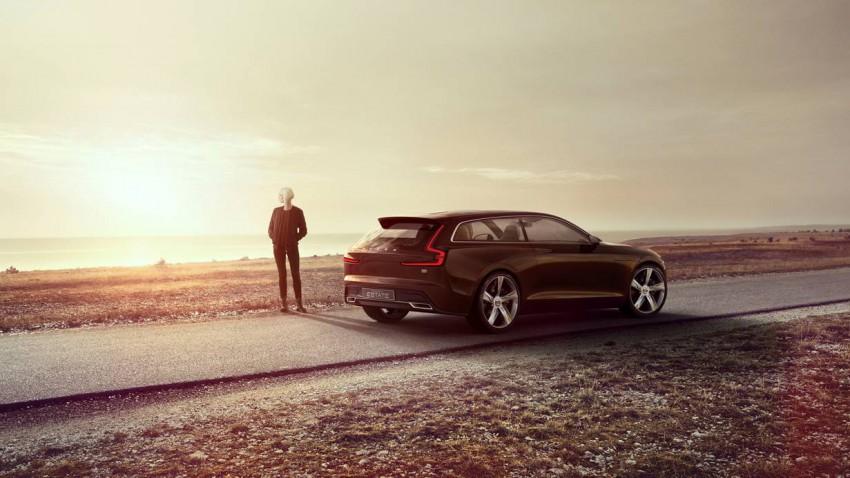 Volvo Concept Estate Video Trailer Autosalon Genf 2014