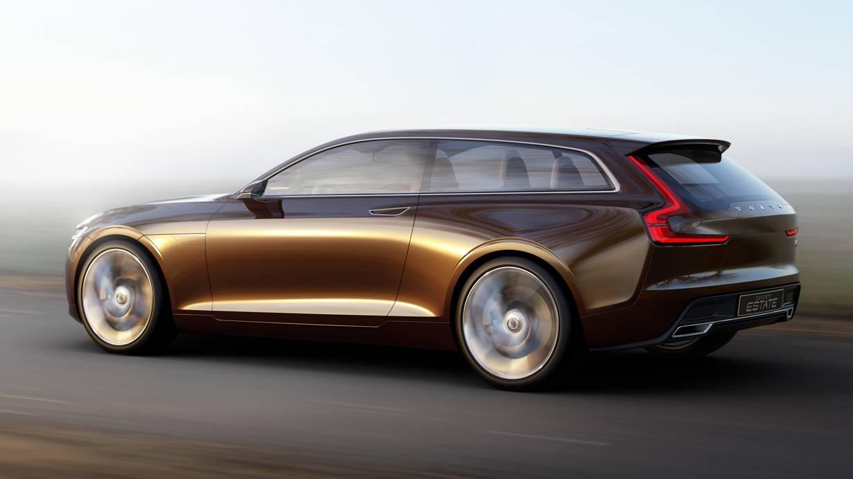 Volvo Concept Estate Autosalon Genf 2014 V90 Kombi