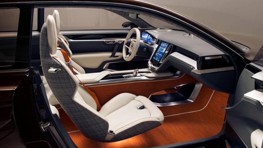 Volvo Concept Estate Innenraum Video Autosalon Genf 2014