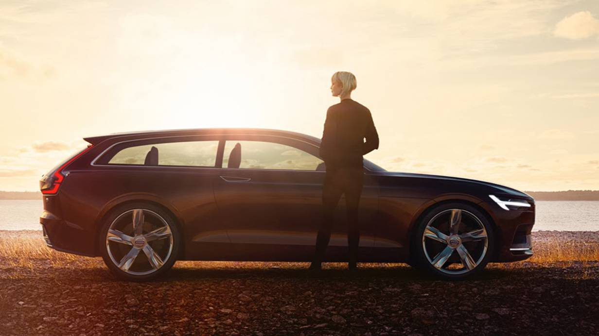 Volvo Concept Estate V90 Kombi Autosalon Genf 2014