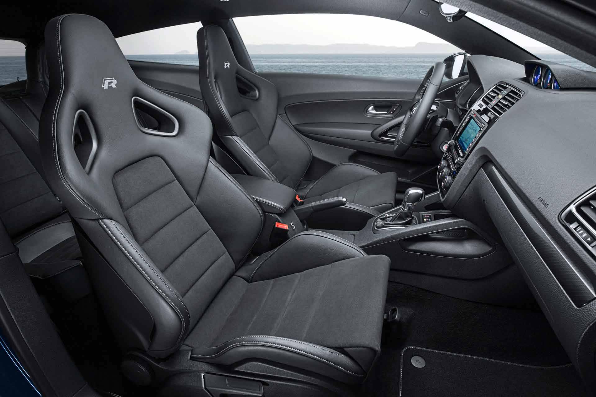 Der VW Scirocco R