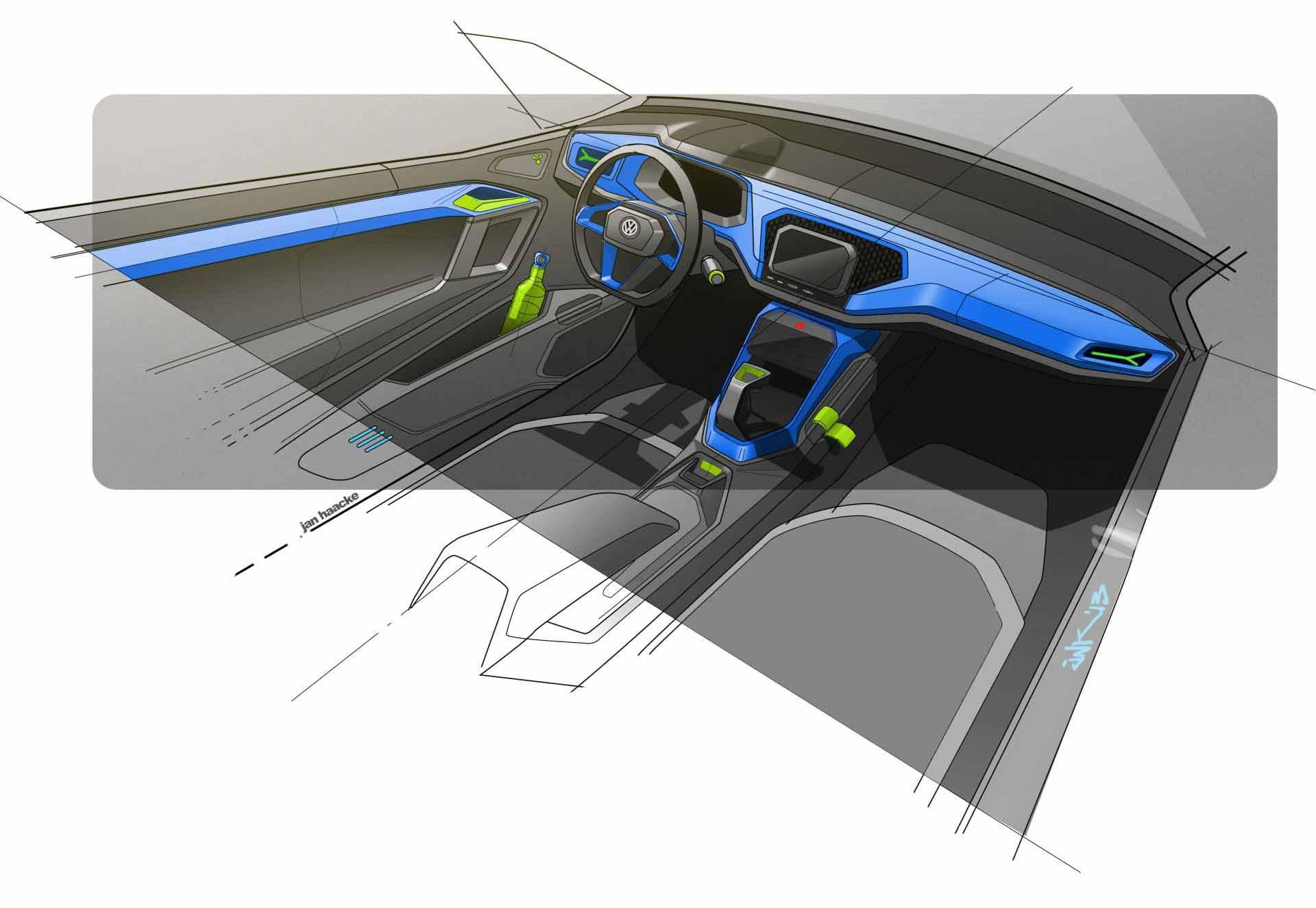 Das VW T-Roc Concept