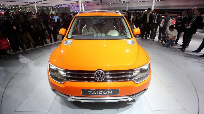vw taigun india motor show 2014