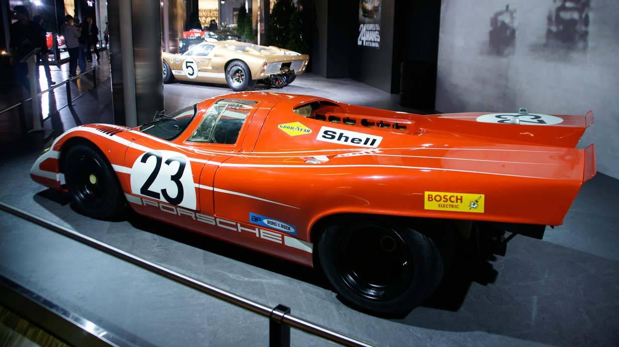 Der Porsche 917 aus dem Jahre 1970