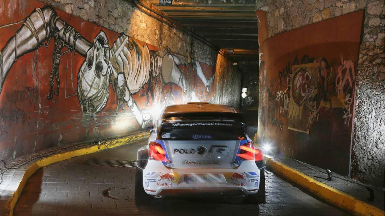 Mikkelsen/Markkula im VW Polo R WRC