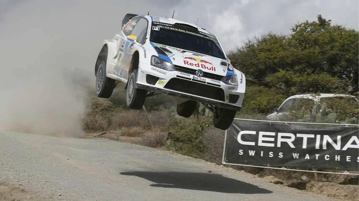 Mikkelsen/Markkula bei der Rallye Mexico