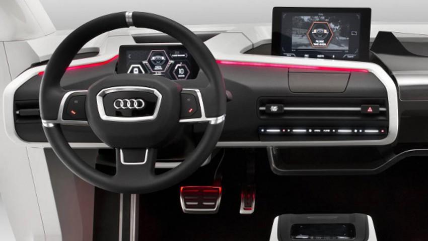 Cockpit der Zukunft - Audi James 2025