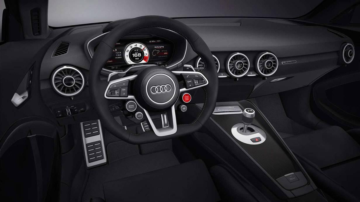 Das Audi TT Quattro Sport Concept