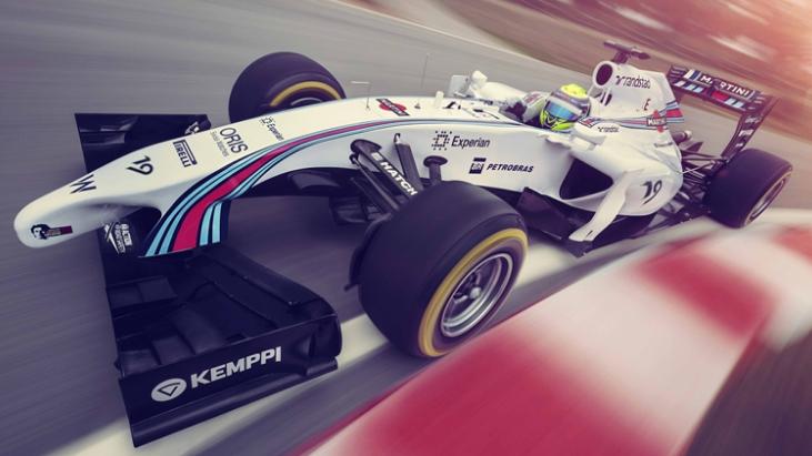 williams martini racing fw36 2014 vorne seite oben