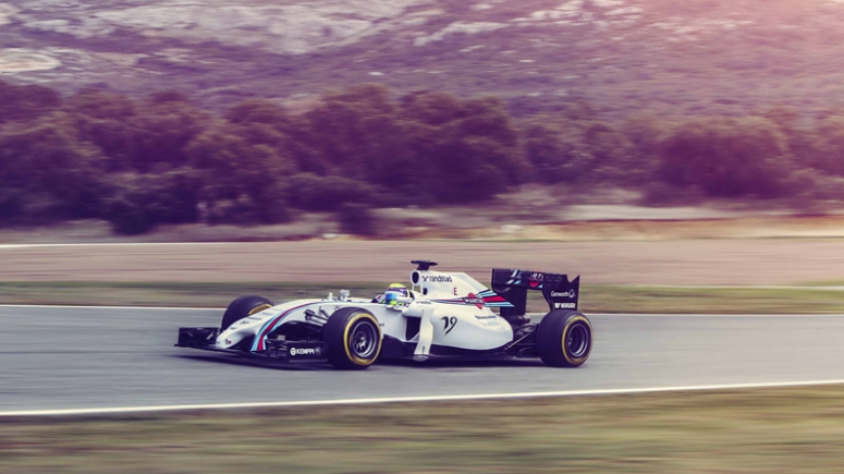 williams martini racing fw36 2014 vorne seite