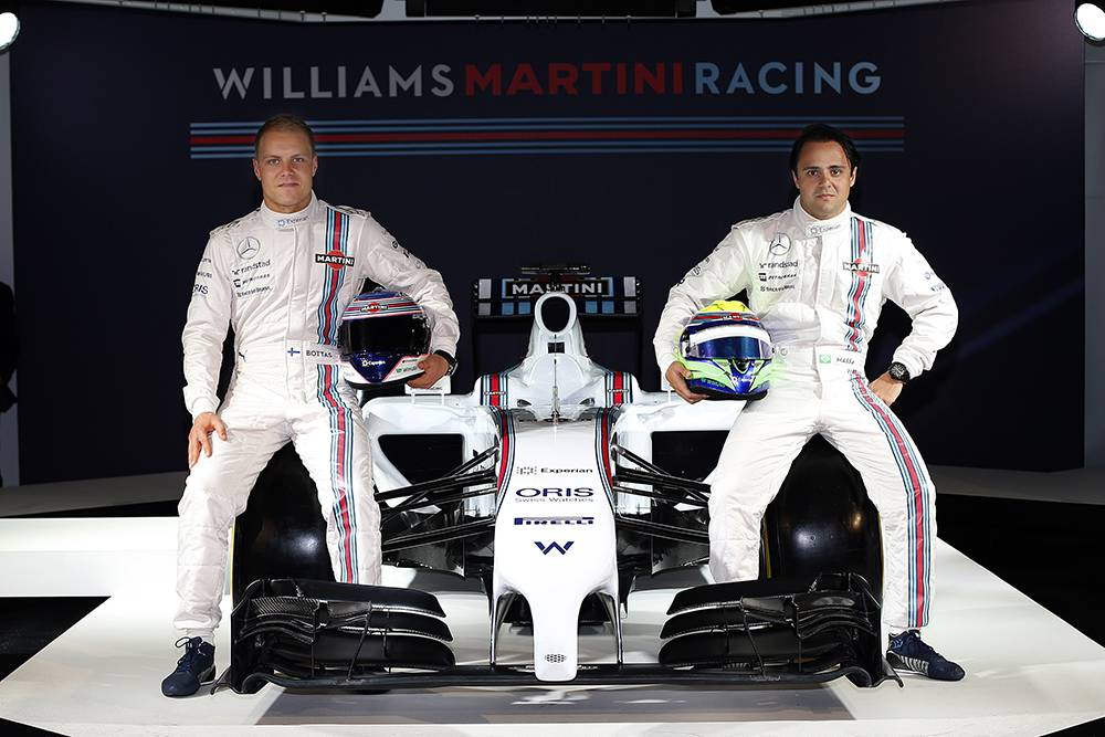 williams martini racing fw36 2014 team