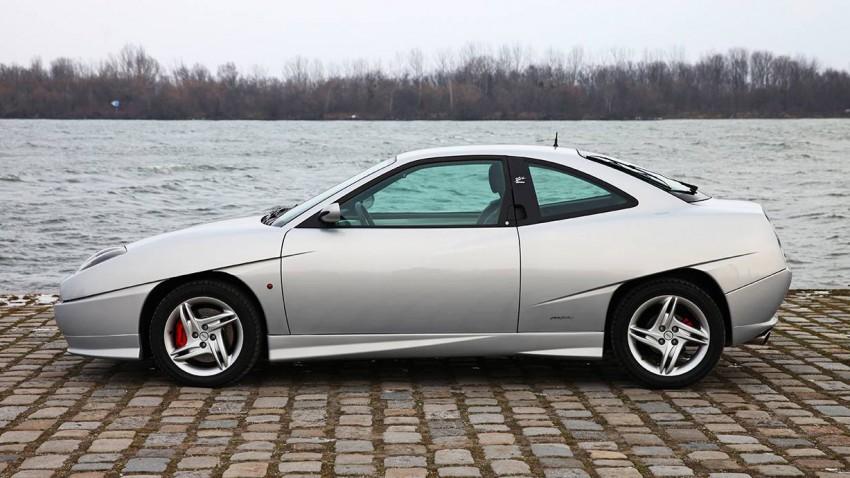 coupe fiat turbo 20v seite kaufberatung silber