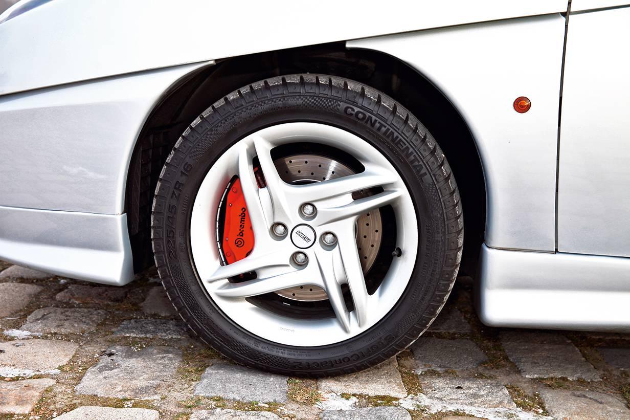 coupe fiat turbo 20v felgen felde brembo bremse