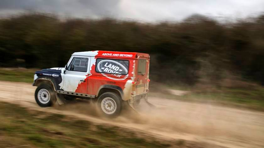 "Land Rover "" Bowler"" Defender"