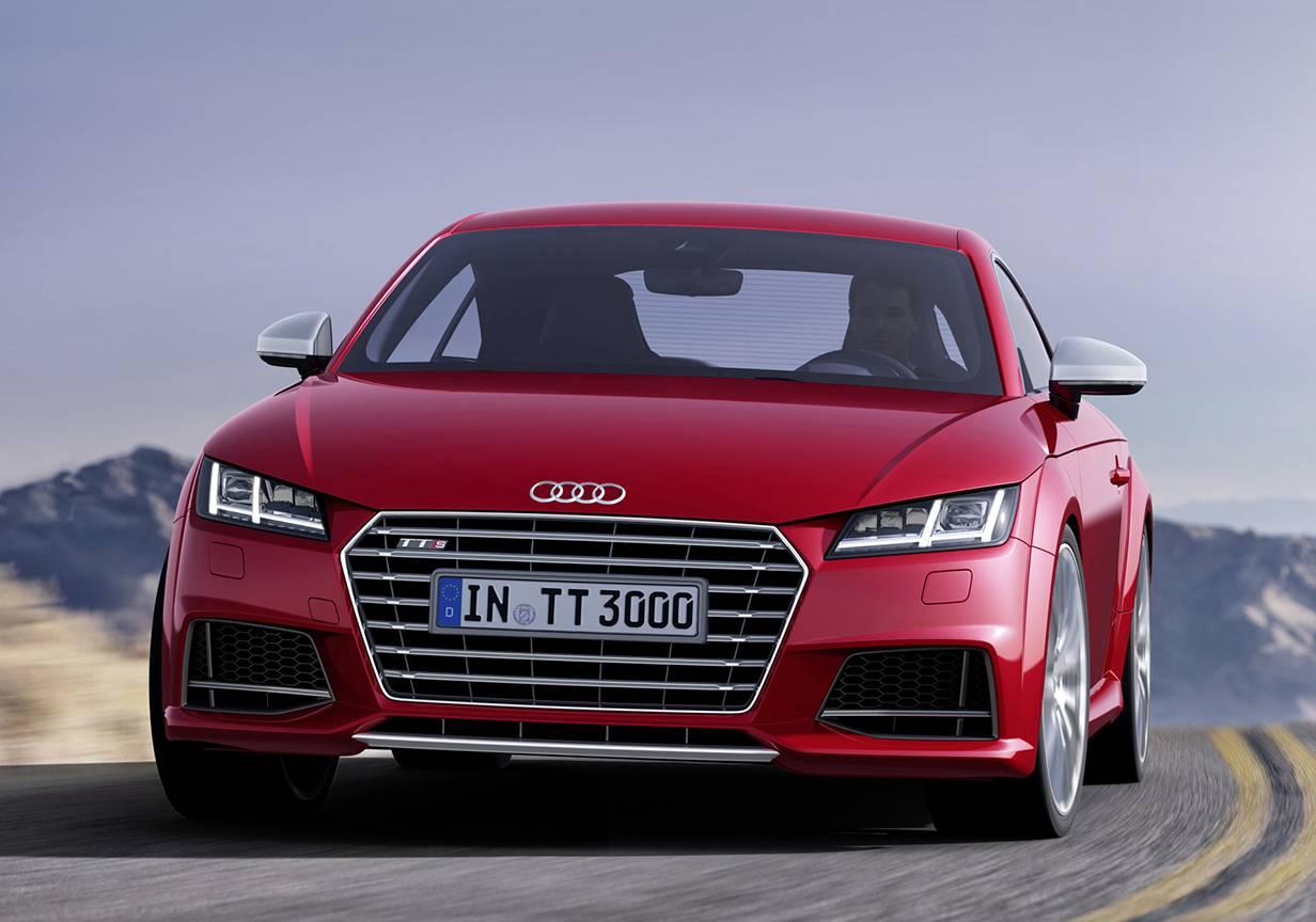 Audi TT 2014 rot vorne front