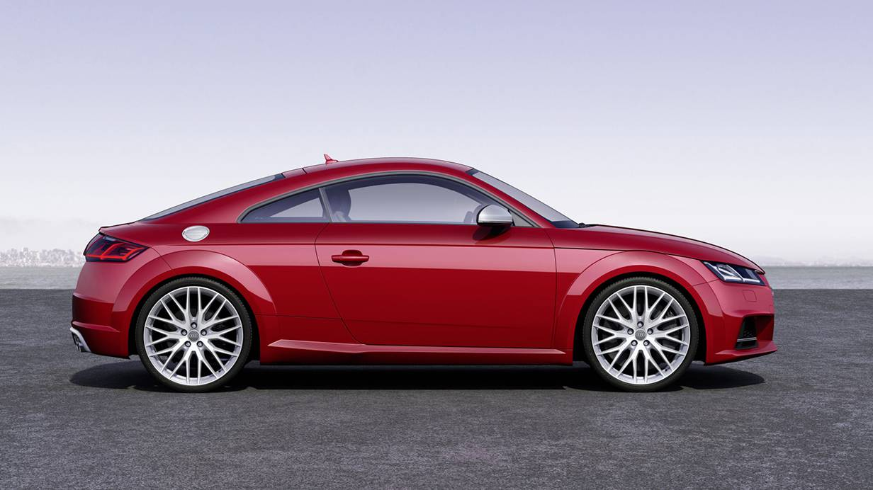 Audi TT 2014 rot seite