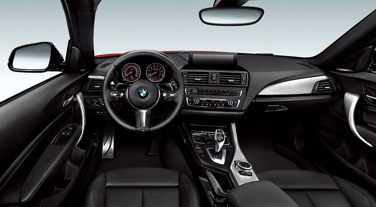 bmw 220d 2er coupe 2014 innenraum cockpit