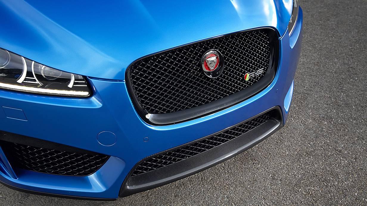 Jaguar XFR-S Sportbrake 2014 blau