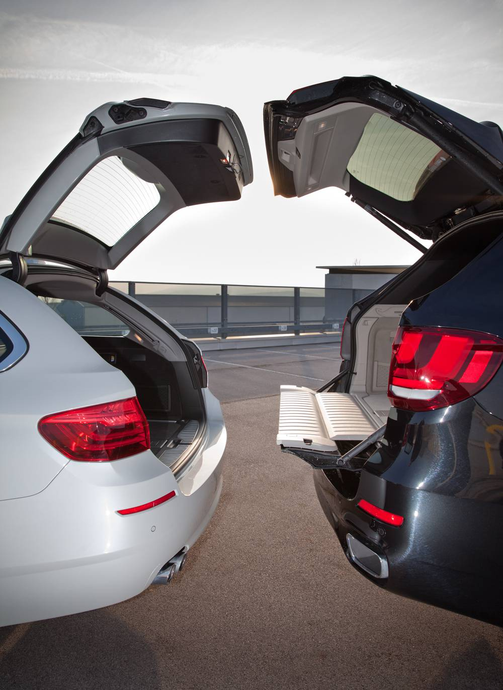 Vergleich Bmw X5 Vs Bmw 5er Touring Autorevue At
