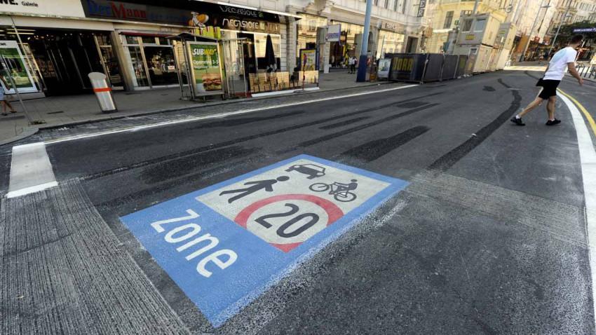 Begegnungszone Mariahilfer Straße