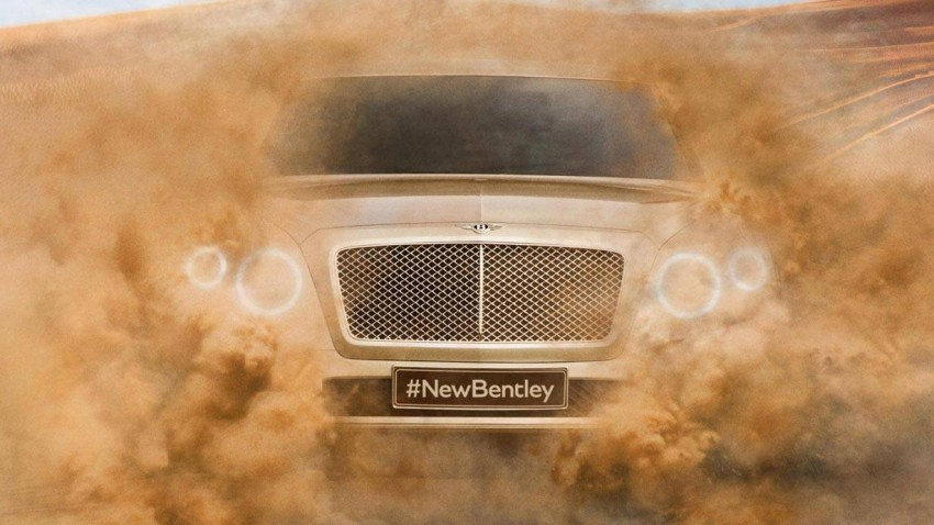 Der Bentley SUV 2016