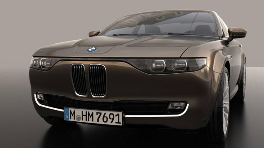 BMW CS Vintage Concept BMW E9 BMW 2000 CS