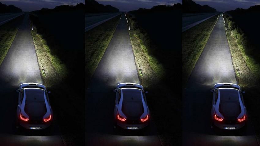 BMW i8 Laserlicht 1
