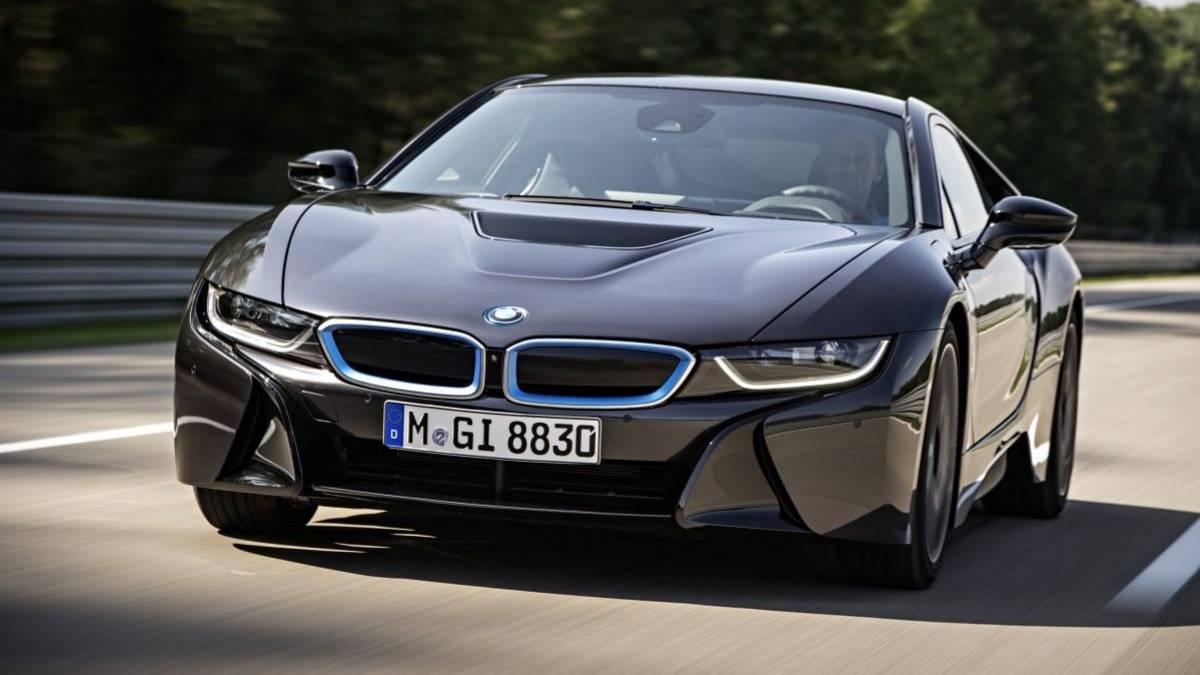 BMW i8 Laserlicht 8