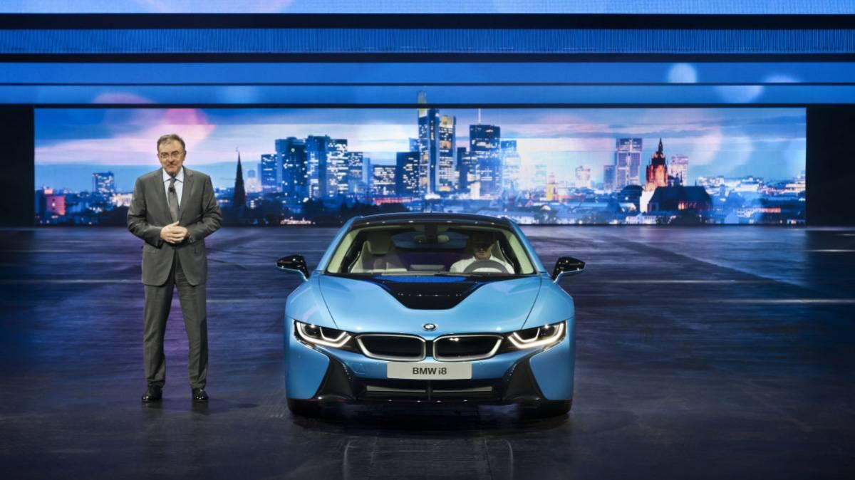 BMW i8 Laserlicht 9
