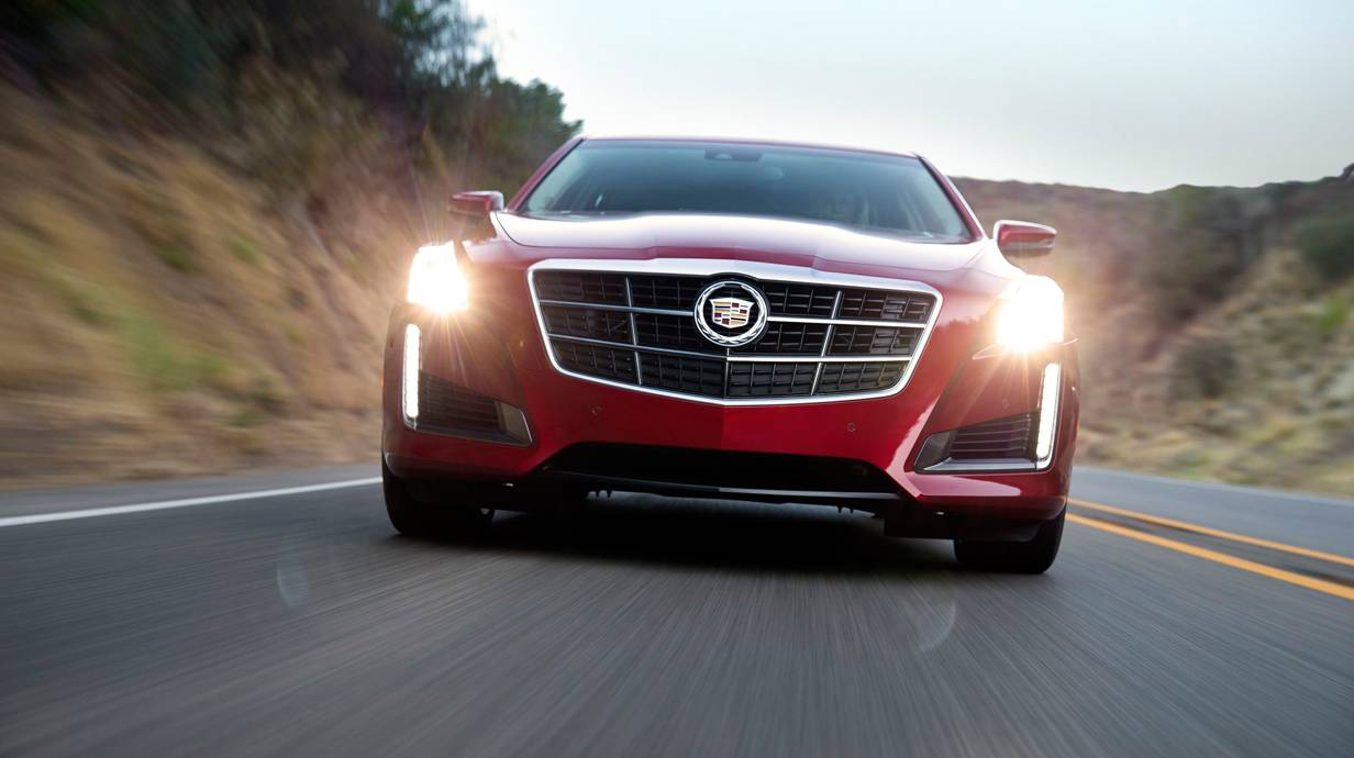 cadillac cts 2014 rot vorne front