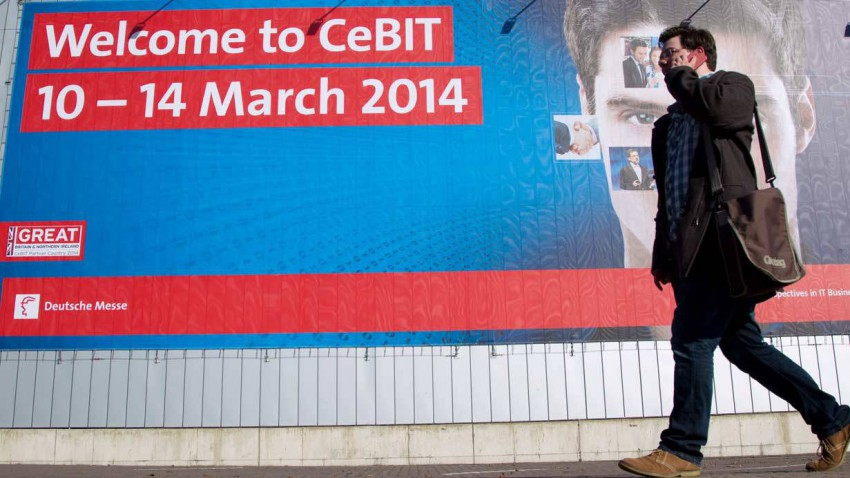 CeBIT 2014 Plakat