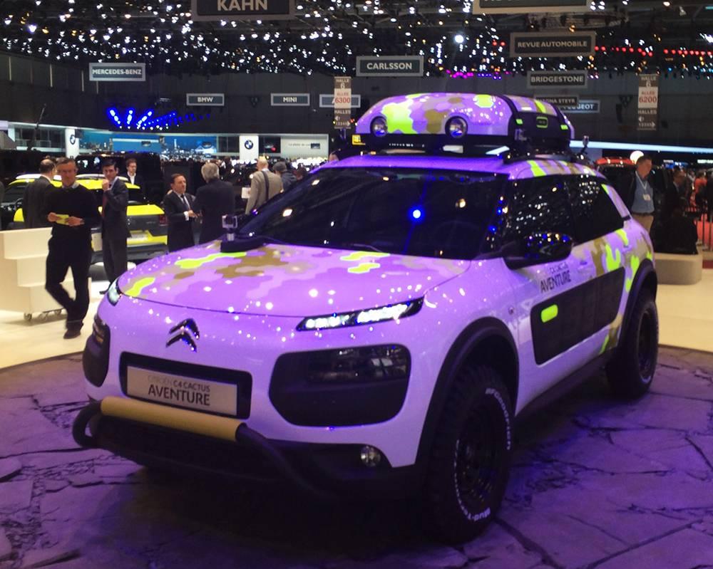 Citroën C4 Cactus Adventure