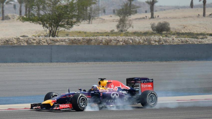 Daniel Ricciardo bei den F1-Tests in Bahrain