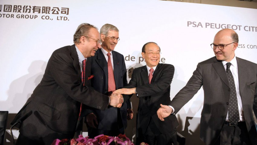 Dongfeng und PSA Peugeot Citroen