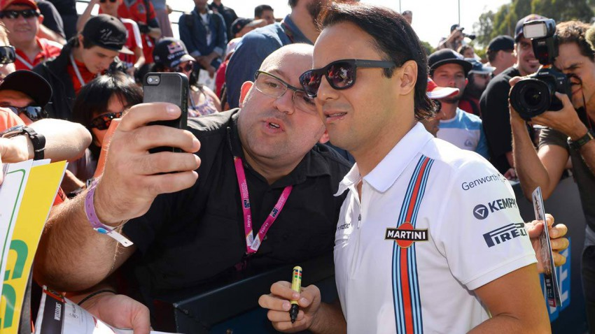 Felipe Massa 2014 in Melbourne