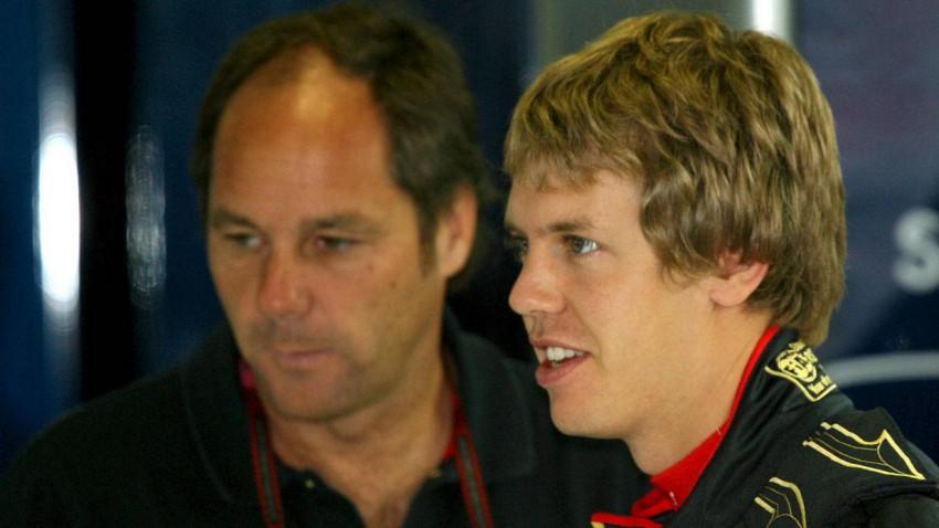 Gerhard Berger und Sebastian Vettel 2007