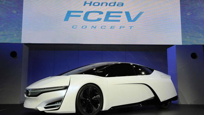 Das Honda FCEV Concept Car