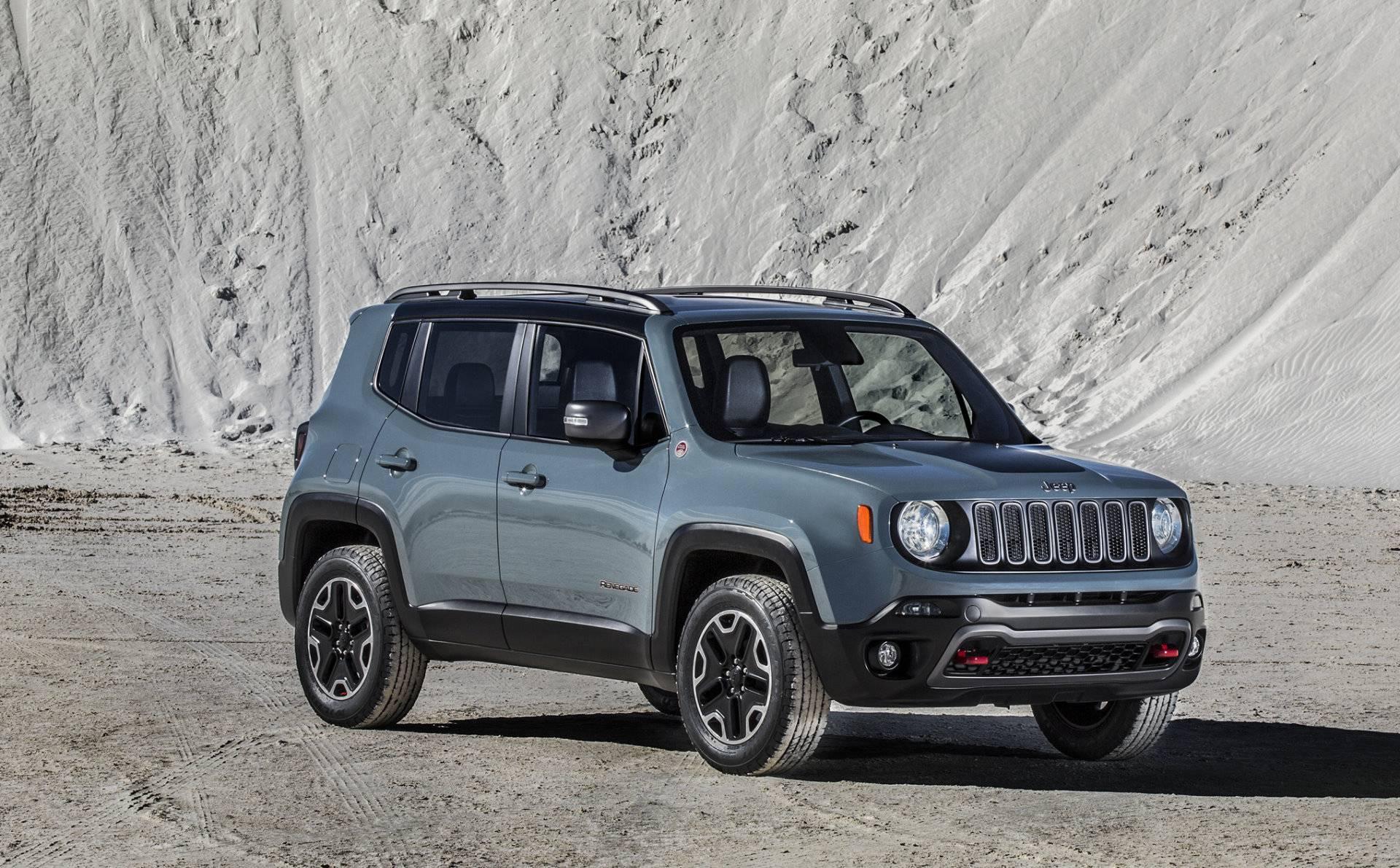 jeep renegade 2014 seite vorne front
