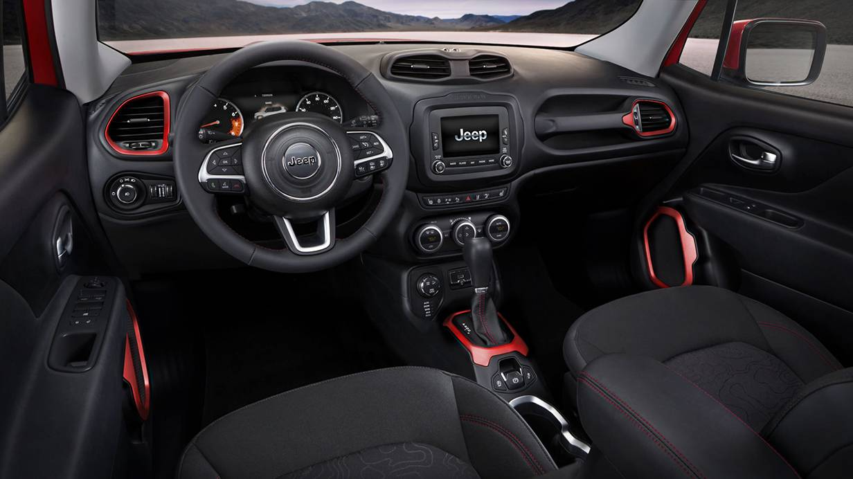 jeep renegade 2014 cockpit innen
