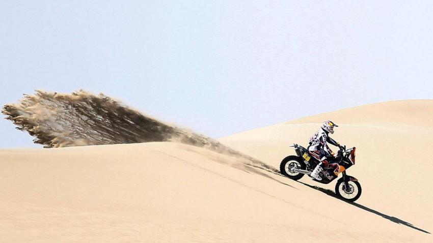Cyril Despres auf einer KTM bei der Rallye Dakar 2013